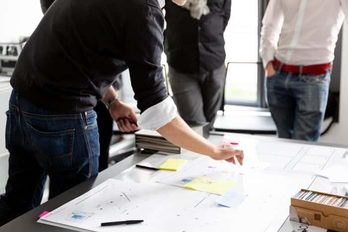 Drei Kunden von Me & Company arbeiten an Business Innovation Lösungen