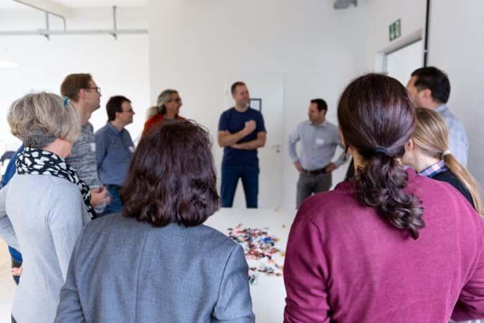 Teilnehmer einer Teamgeist Session von Me & Company