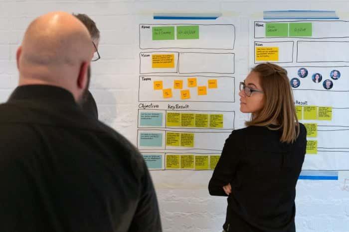 Teilnehmerin eines Experience Design Sprints von Me & Company