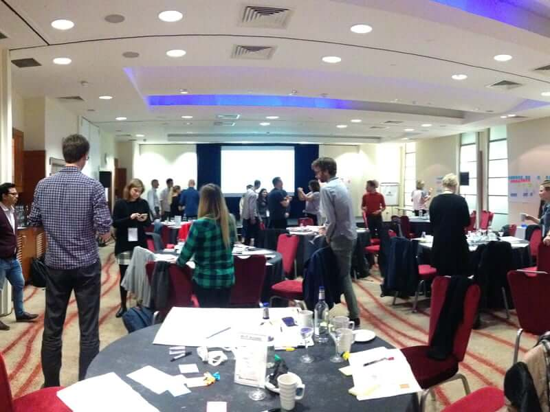Workshop auf der UX Intensive 2016 in London