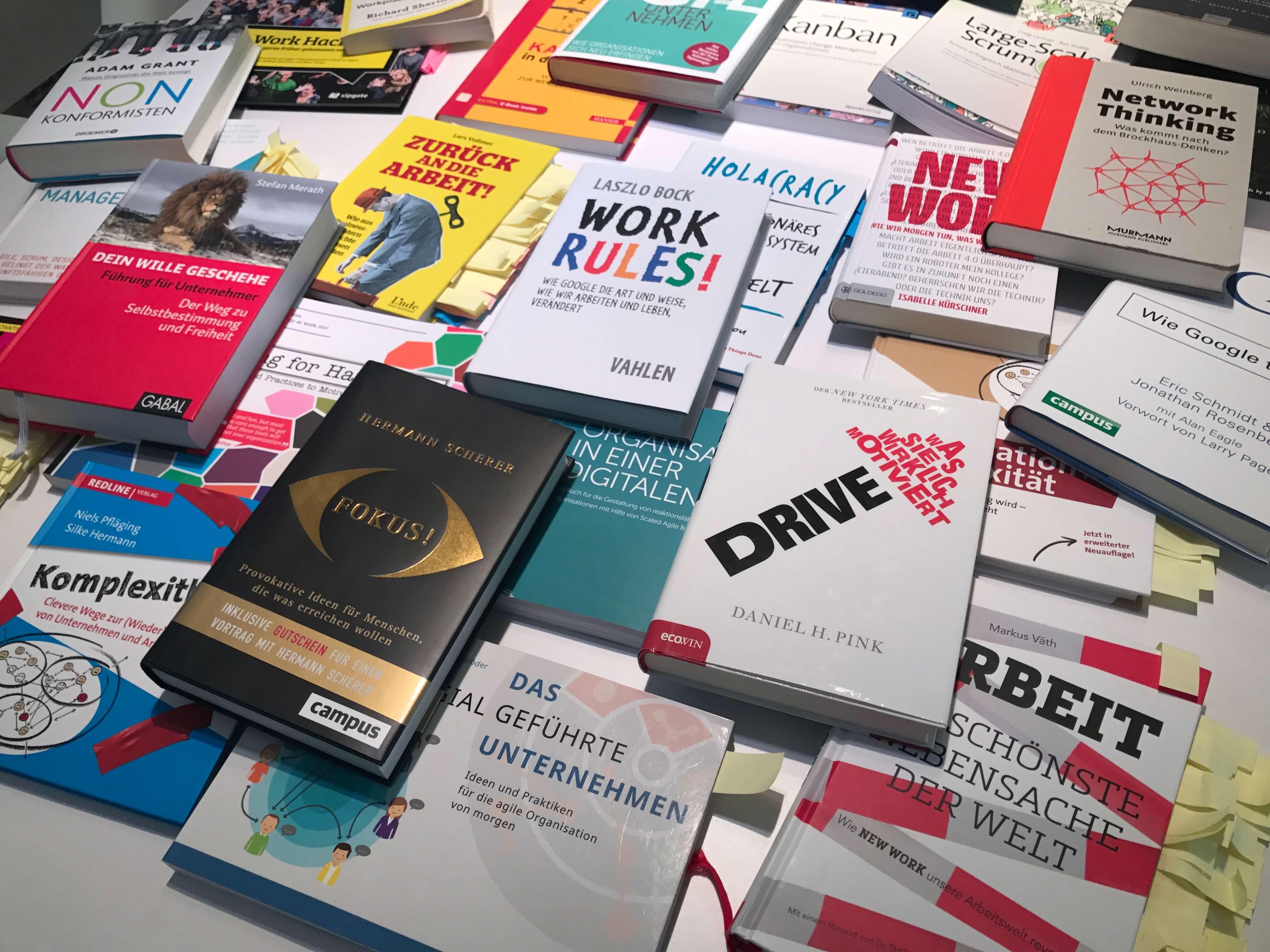 Bücher über agiles Arbeiten