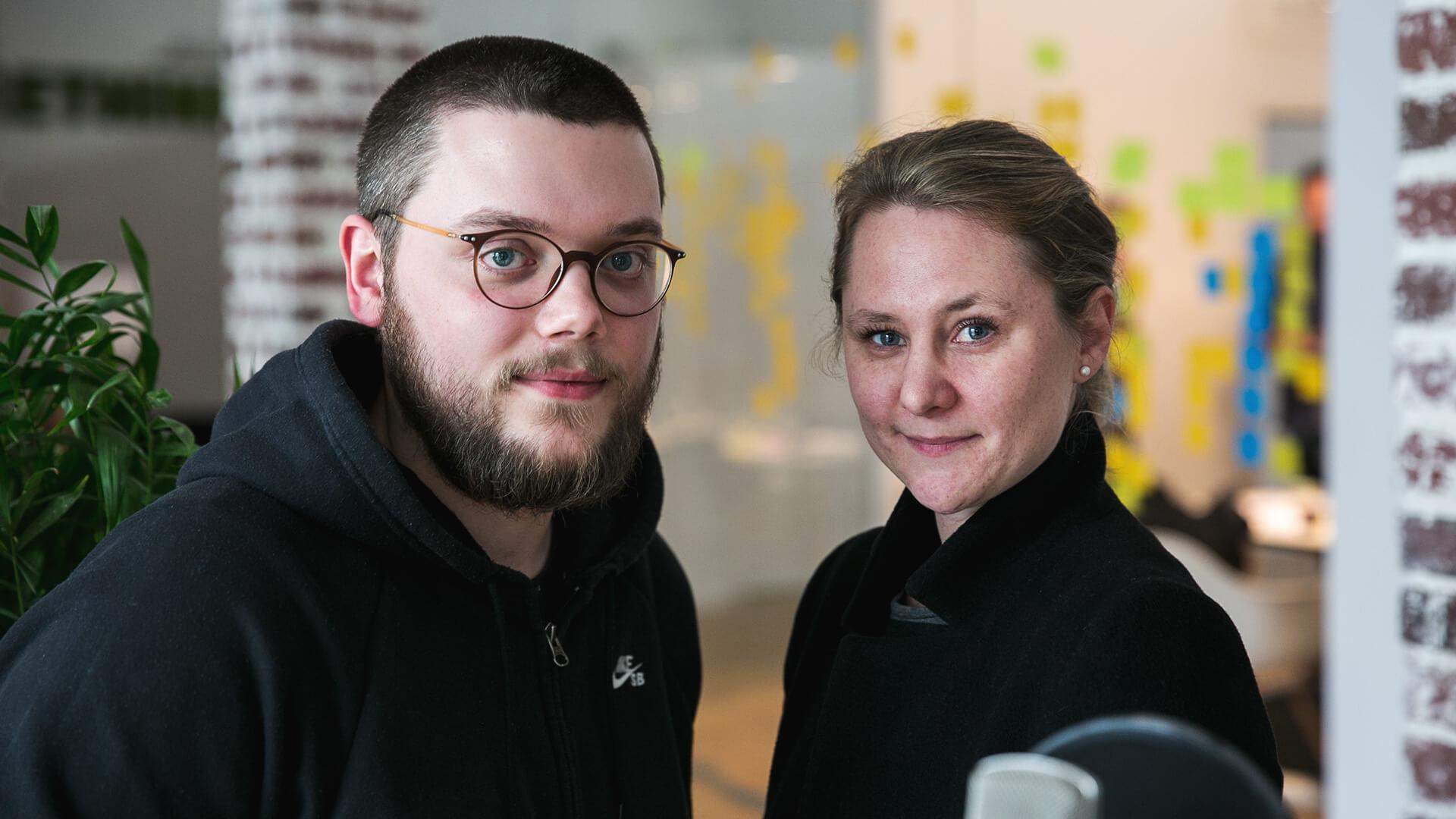 Vanessa Bern und Robin Stickel